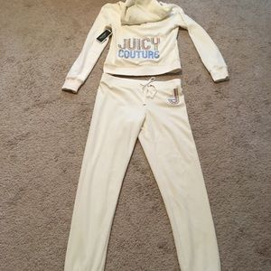 Juicy Couture Bling Robertson Jacket & Pants NWT S